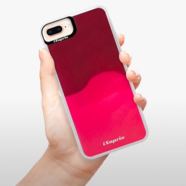 Neonové pouzdro Pink iSaprio - 4Pure - mléčný bez potisku - iPhone 8 Plus