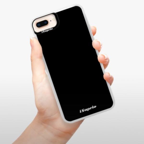 Neonové pouzdro Pink iSaprio - 4Pure - černý - iPhone 8 Plus