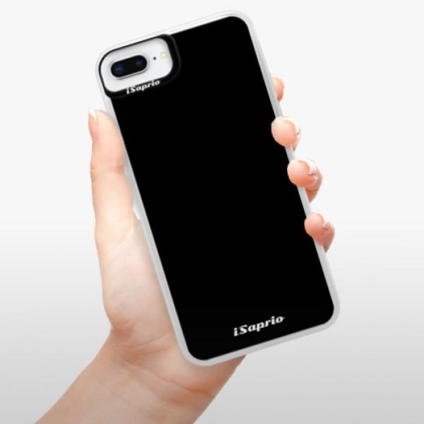 Neonové pouzdro Blue iSaprio - 4Pure - černý - iPhone 8 Plus