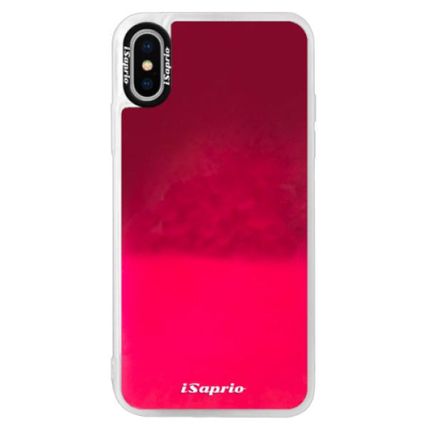 Neonové pouzdro Pink iSaprio - 4Pure - mléčný bez potisku - iPhone X