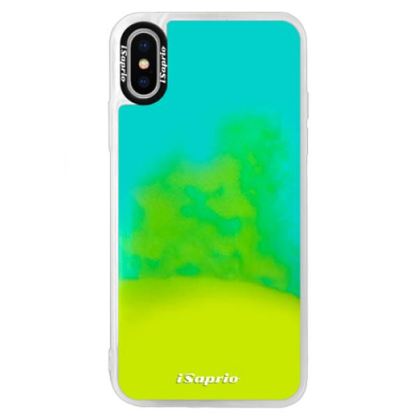 Neonové pouzdro Blue iSaprio - 4Pure - mléčný bez potisku - iPhone X