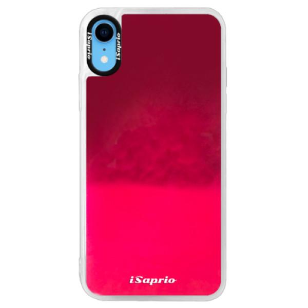 Neonové pouzdro Pink iSaprio - 4Pure - mléčný bez potisku - iPhone XR