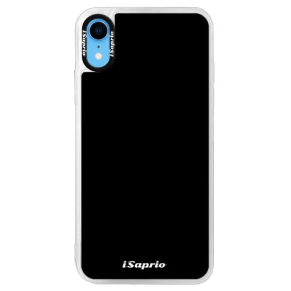 Neonové pouzdro Pink iSaprio - 4Pure - černý - iPhone XR