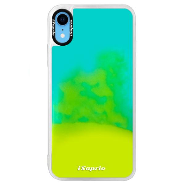 Neonové pouzdro Blue iSaprio - 4Pure - mléčný bez potisku - iPhone XR