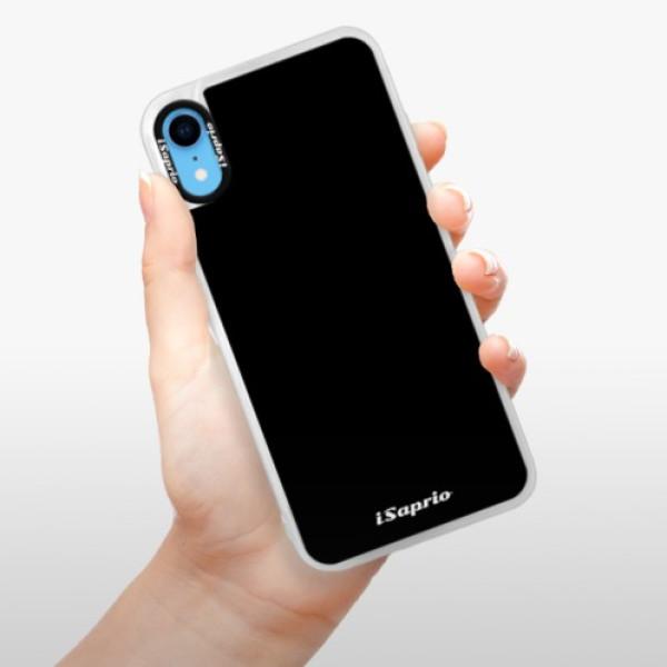 Neonové pouzdro Blue iSaprio - 4Pure - černý - iPhone XR
