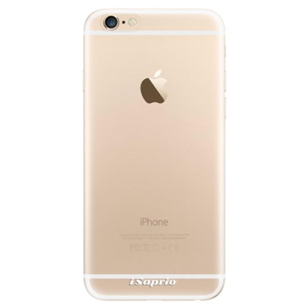 Odolné silikonové pouzdro iSaprio - 4Pure - mléčný bez potisku - iPhone 6/6S