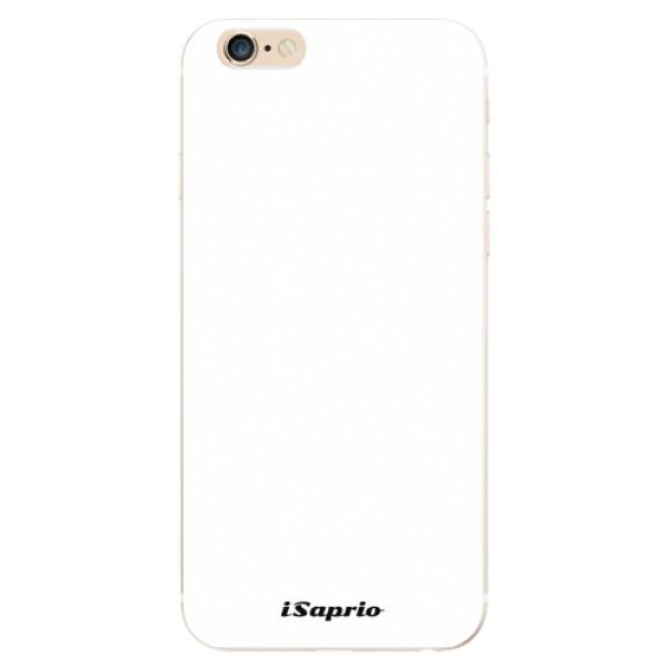 Odolné silikonové pouzdro iSaprio - 4Pure - bílý - iPhone 6/6S