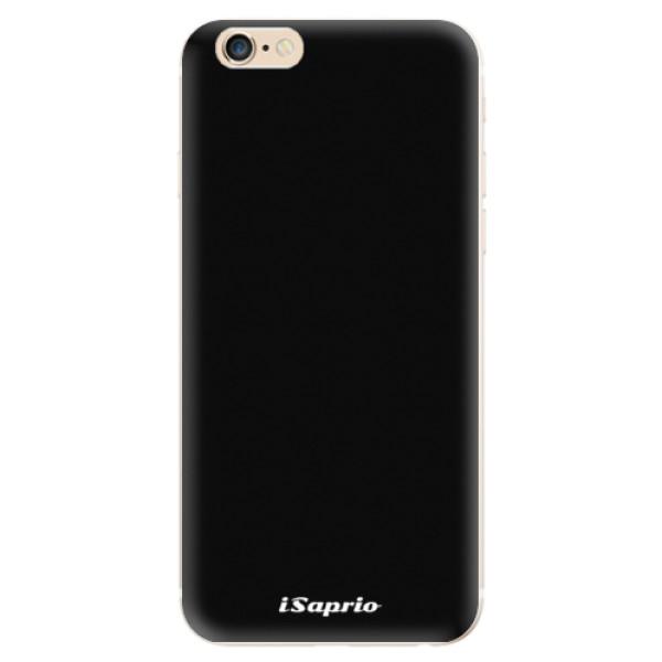 Odolné silikonové pouzdro iSaprio - 4Pure - černý - iPhone 6/6S