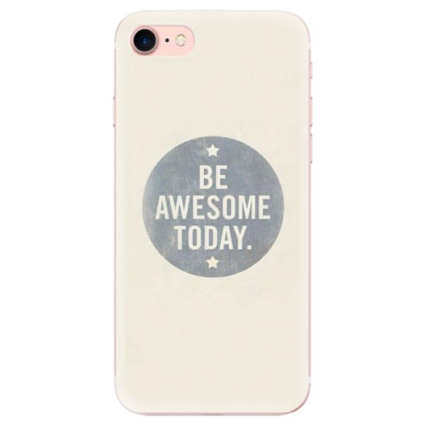 Odolné silikonové pouzdro iSaprio - Awesome 02 - iPhone 7