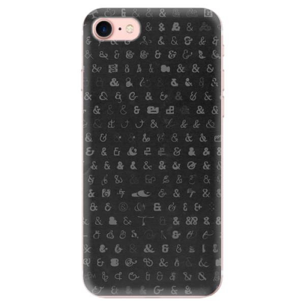 Odolné silikonové pouzdro iSaprio - Ampersand 01 - iPhone 7