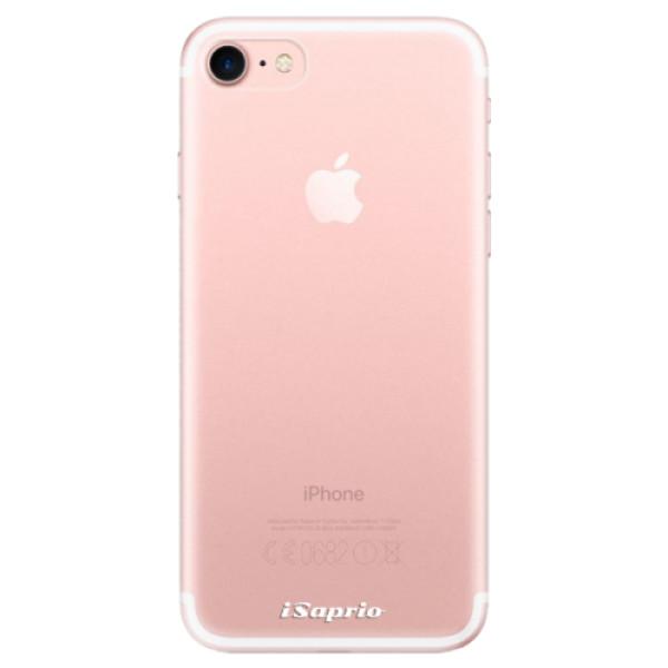 Odolné silikonové pouzdro iSaprio - 4Pure - mléčný bez potisku - iPhone 7