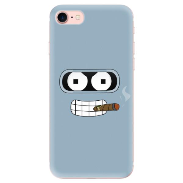Odolné silikonové pouzdro iSaprio - Bender - iPhone 7
