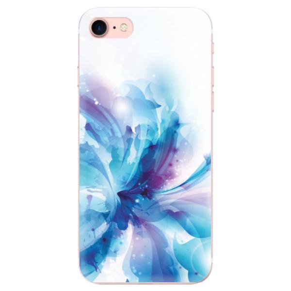 Odolné silikonové pouzdro iSaprio - Abstract Flower - iPhone 7
