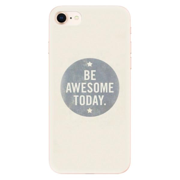 Odolné silikonové pouzdro iSaprio - Awesome 02 - iPhone 8
