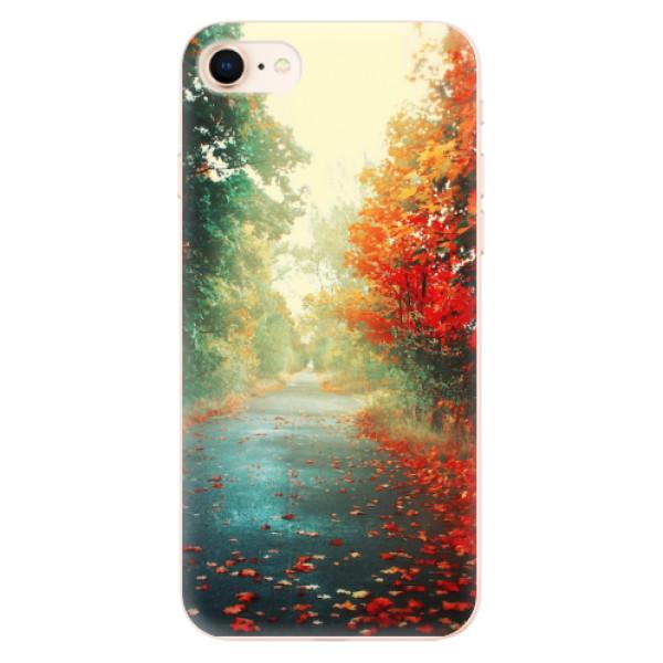 Odolné silikonové pouzdro iSaprio - Autumn 03 - iPhone 8