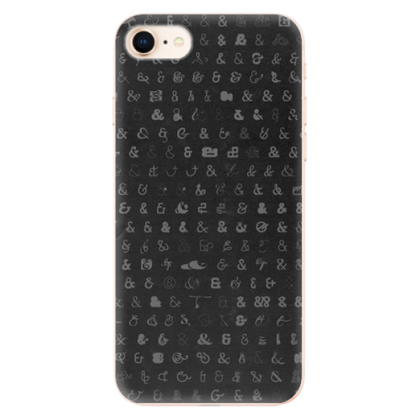 Odolné silikonové pouzdro iSaprio - Ampersand 01 - iPhone 8