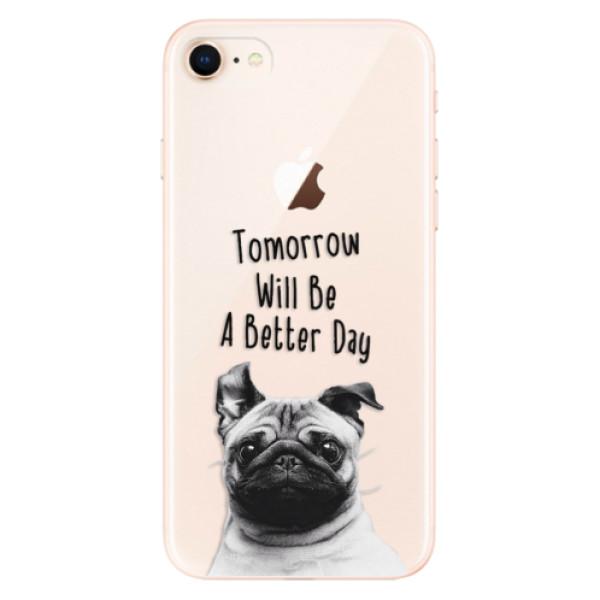 Odolné silikonové pouzdro iSaprio - Better Day 01 - iPhone 8