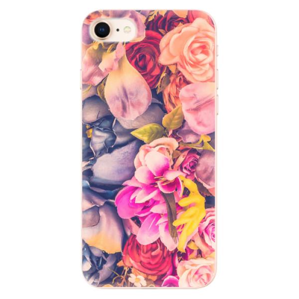 Odolné silikonové pouzdro iSaprio - Beauty Flowers - iPhone 8