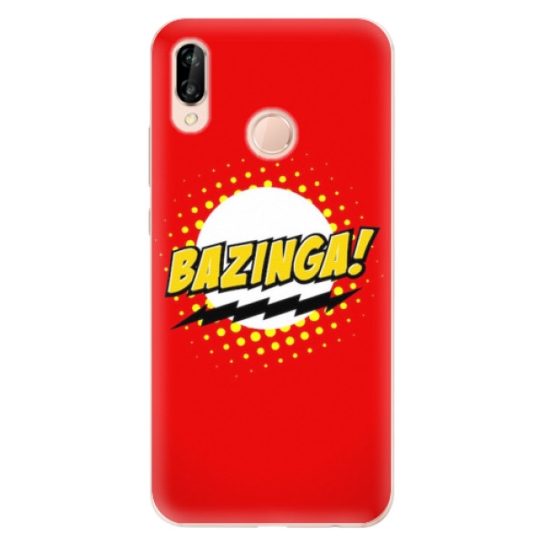 Odolné silikonové pouzdro iSaprio - Bazinga 01 - Huawei P20 Lite