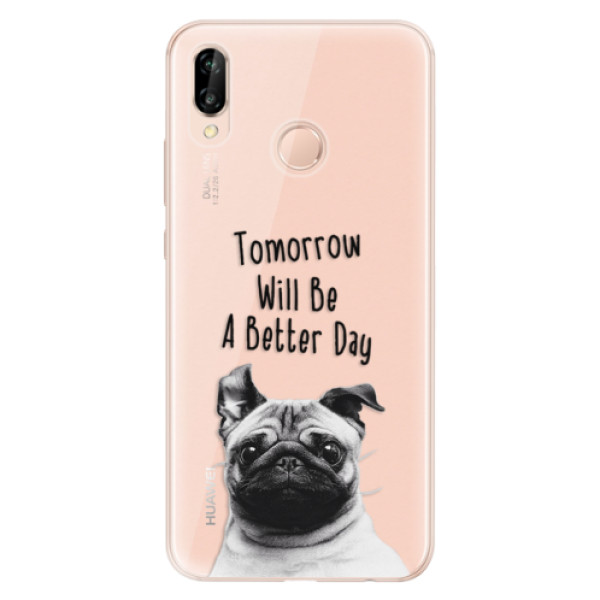 Odolné silikonové pouzdro iSaprio - Better Day 01 - Huawei P20 Lite