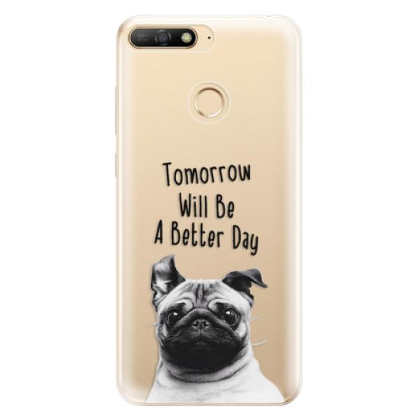 Odolné silikonové pouzdro iSaprio - Better Day 01 - Huawei Y6 Prime 2018