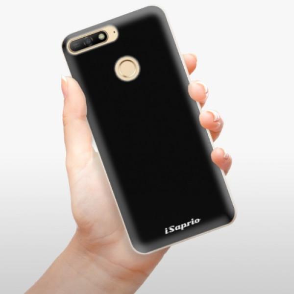 Odolné silikonové pouzdro iSaprio - 4Pure - černý - Huawei Y6 Prime 2018