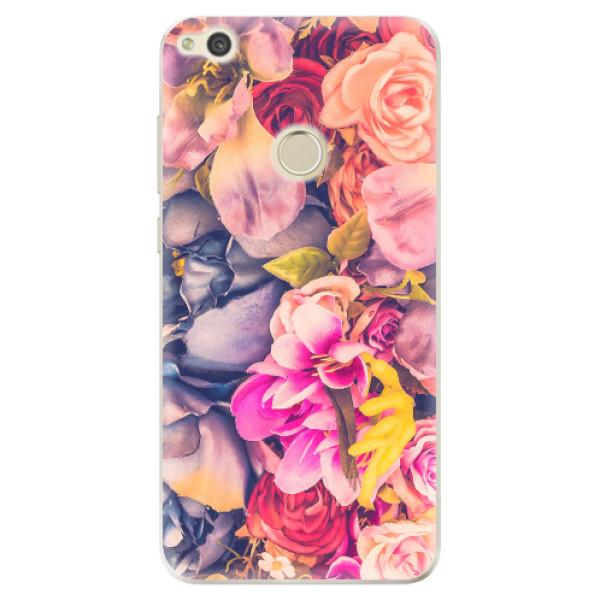 Odolné silikonové pouzdro iSaprio - Beauty Flowers - Huawei P9 Lite 2017