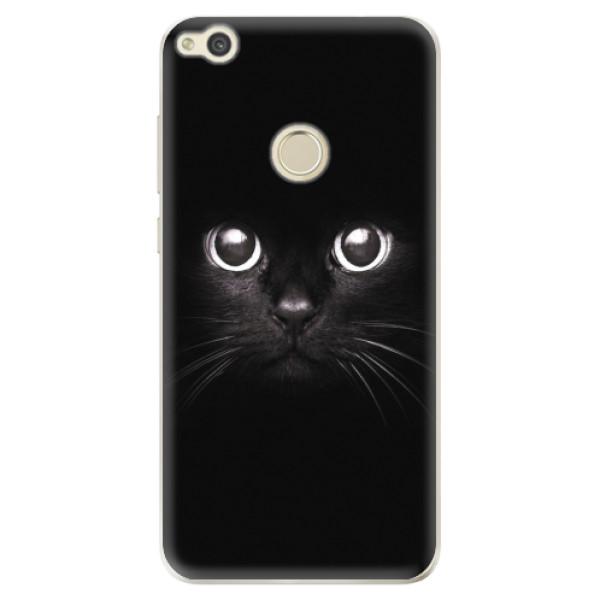 Odolné silikonové pouzdro iSaprio - Black Cat - Huawei P9 Lite 2017