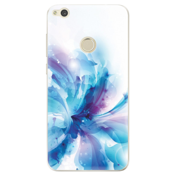 Odolné silikonové pouzdro iSaprio - Abstract Flower - Huawei P9 Lite 2017
