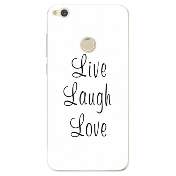 Odolné silikonové pouzdro iSaprio - Live Laugh Love - Huawei P9 Lite 2017