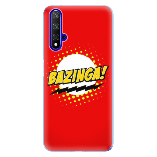 Odolné silikonové pouzdro iSaprio - Bazinga 01 - Huawei Honor 20