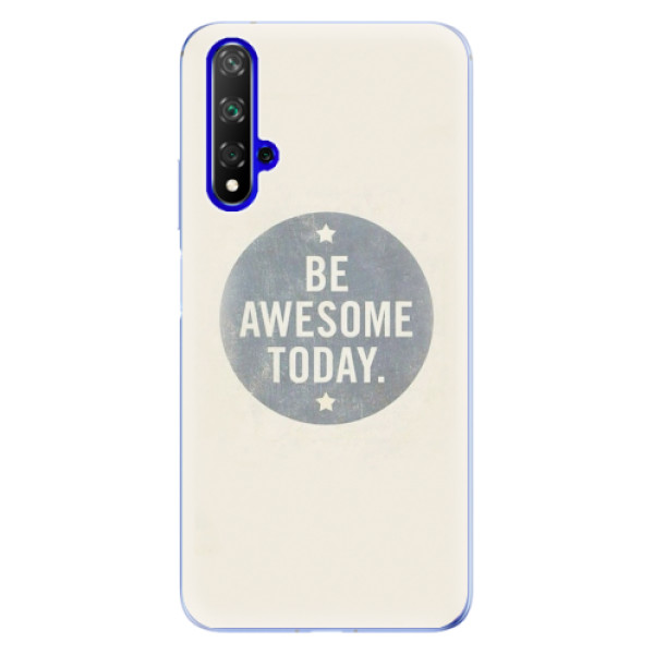 Odolné silikonové pouzdro iSaprio - Awesome 02 - Huawei Honor 20