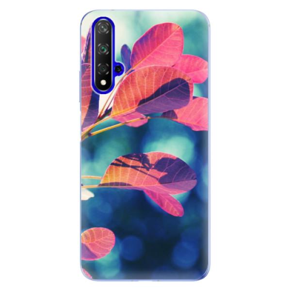 Odolné silikonové pouzdro iSaprio - Autumn 01 - Huawei Honor 20