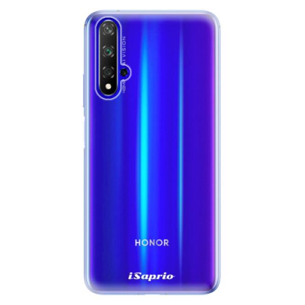 Odolné silikonové pouzdro iSaprio - 4Pure - mléčný bez potisku - Huawei Honor 20