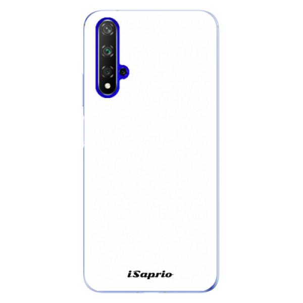 Odolné silikonové pouzdro iSaprio - 4Pure - bílý - Huawei Honor 20