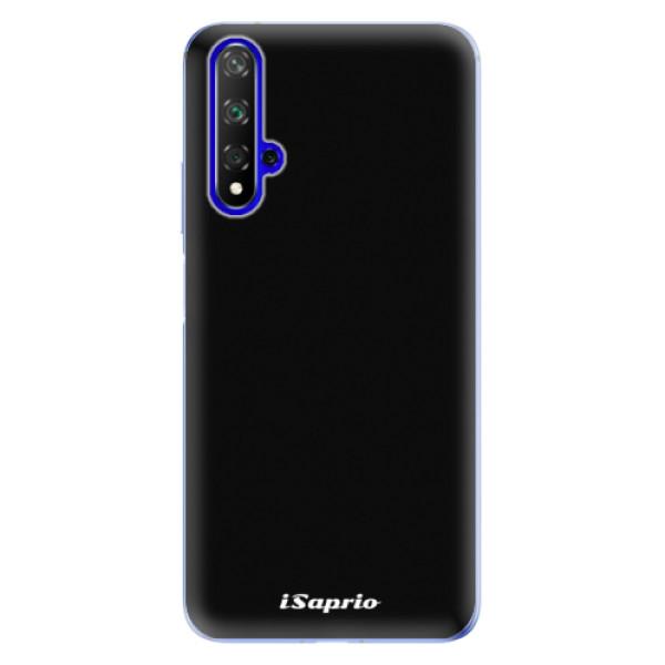 Odolné silikonové pouzdro iSaprio - 4Pure - černý - Huawei Honor 20