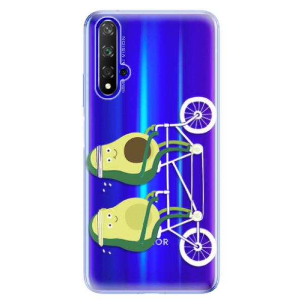 Odolné silikonové pouzdro iSaprio - Avocado - Huawei Honor 20