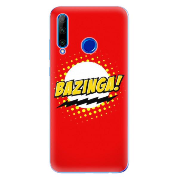 Odolné silikonové pouzdro iSaprio - Bazinga 01 - Huawei Honor 20 Lite