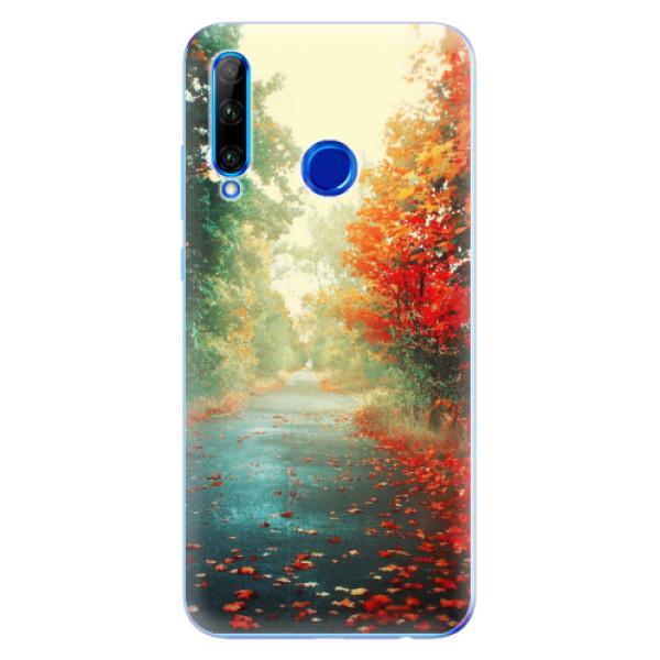 Odolné silikonové pouzdro iSaprio - Autumn 03 - Huawei Honor 20 Lite