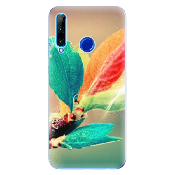 Odolné silikonové pouzdro iSaprio - Autumn 02 - Huawei Honor 20 Lite
