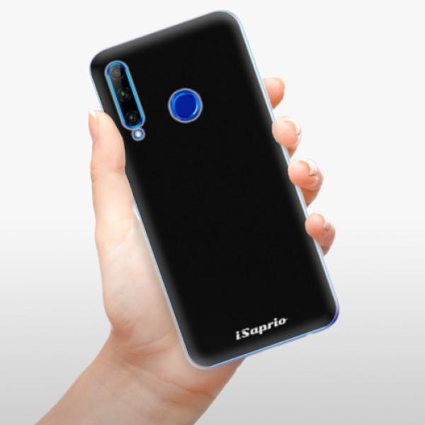 Odolné silikonové pouzdro iSaprio - 4Pure - černý - Huawei Honor 20 Lite