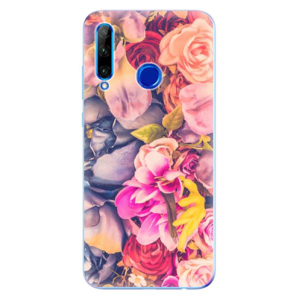 Odolné silikonové pouzdro iSaprio - Beauty Flowers - Huawei Honor 20 Lite