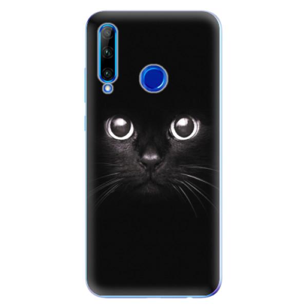 Odolné silikonové pouzdro iSaprio - Black Cat - Huawei Honor 20 Lite