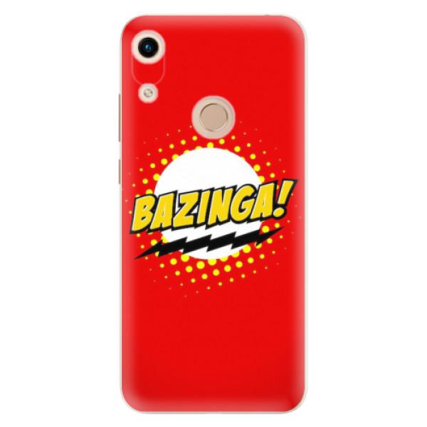 Odolné silikonové pouzdro iSaprio - Bazinga 01 - Huawei Honor 8A