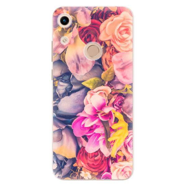 Odolné silikonové pouzdro iSaprio - Beauty Flowers - Huawei Honor 8A