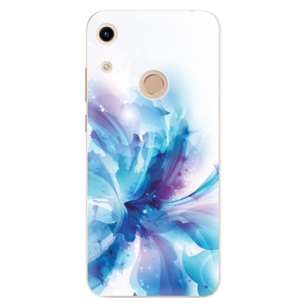 Odolné silikonové pouzdro iSaprio - Abstract Flower - Huawei Honor 8A