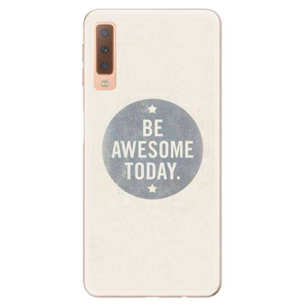 Odolné silikonové pouzdro iSaprio - Awesome 02 - Samsung Galaxy A7 (2018)