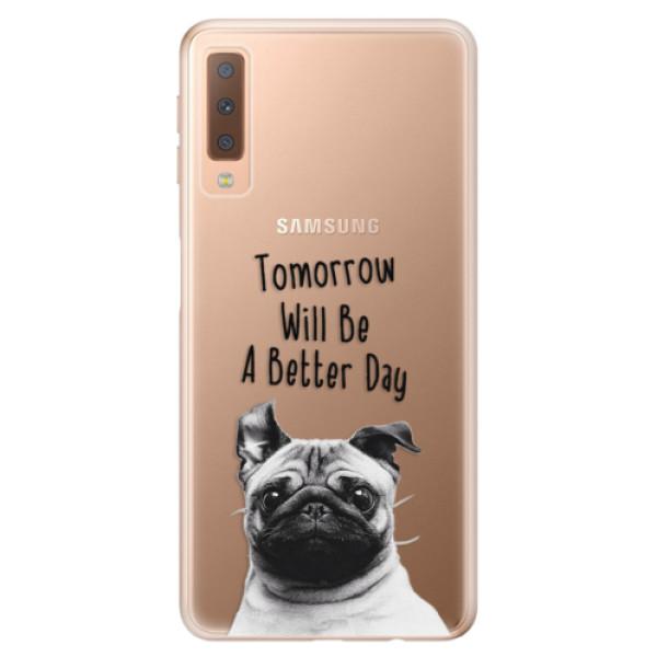 Odolné silikonové pouzdro iSaprio - Better Day 01 - Samsung Galaxy A7 (2018)