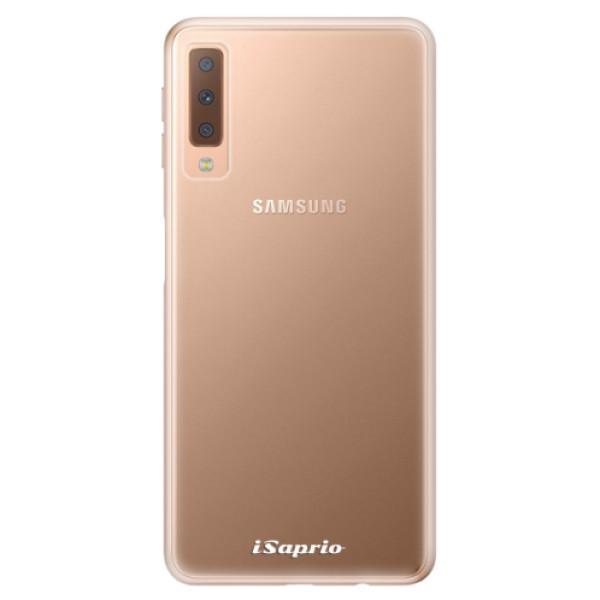 Odolné silikonové pouzdro iSaprio - 4Pure - mléčný bez potisku - Samsung Galaxy A7 (2018)