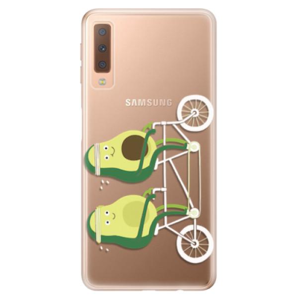 Odolné silikonové pouzdro iSaprio - Avocado - Samsung Galaxy A7 (2018)